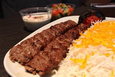 Constantinople kebabs with sumac