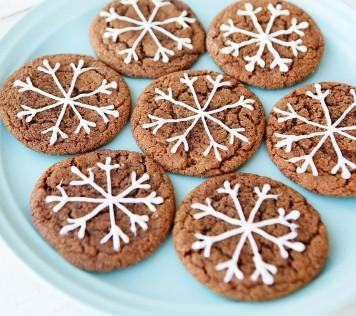 Χριστουγεννιάτικα μπισκότα με Τζίντζερ