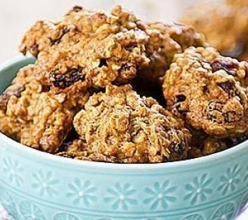 Μπισκότα με ταχίνι, μέλι και βρώμη του Άκη Πετρετζίκη