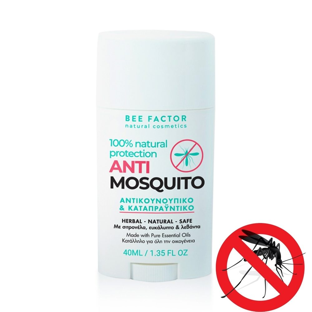 Insect repellent & Soothing for Bites 100% Natural (Bee Factor) (40ml)