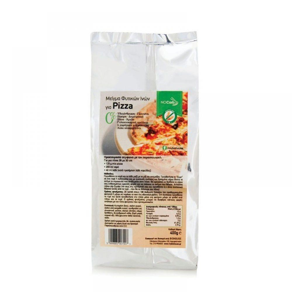 Μείγμα Φυτικών Ινών για Pizza Keto-Friendly NoCarb (400g)