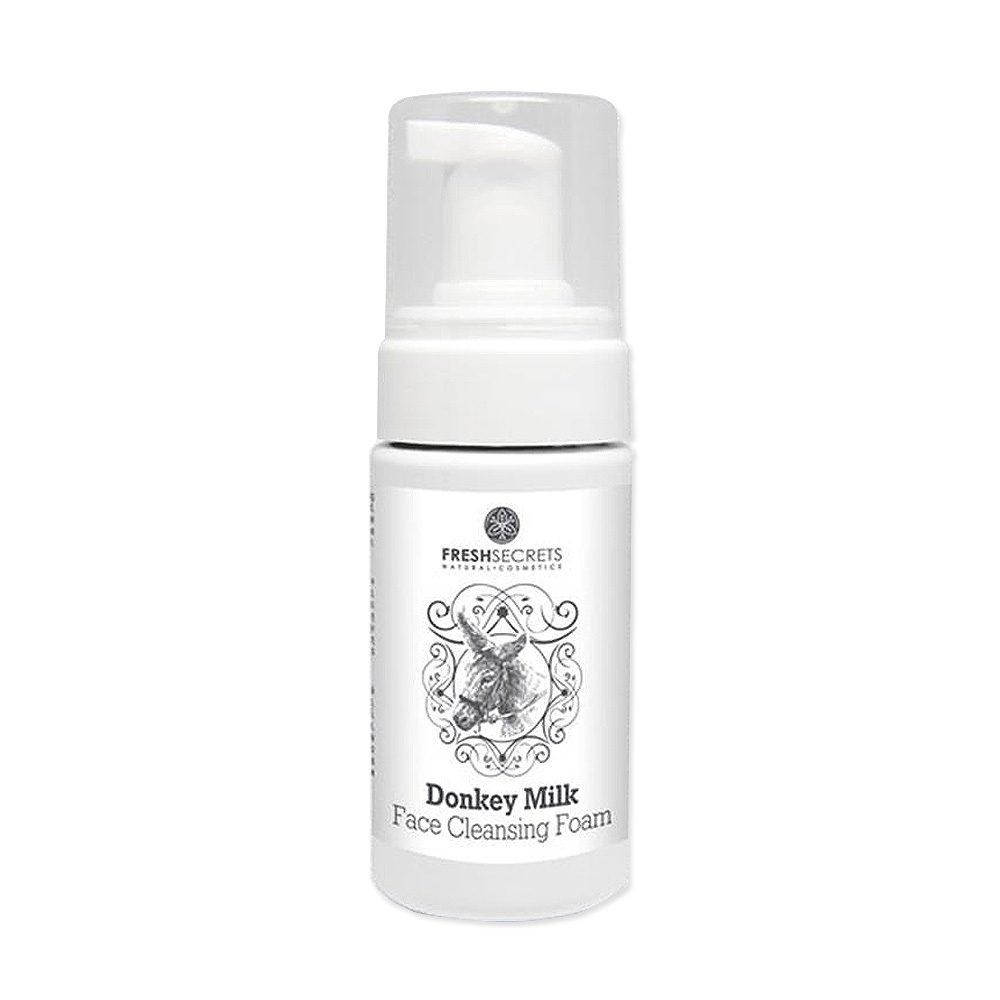 Face Cleansing foam Donkey milk (Fresh Secrets) (100ml)