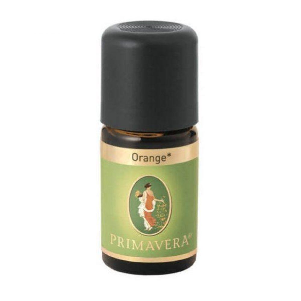Orange essential oil (Bio) (Primavera 5ml)
