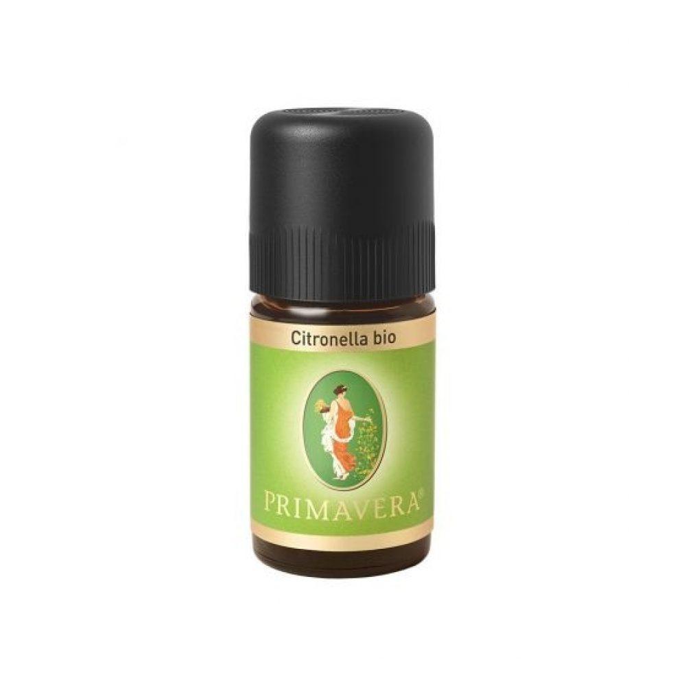 Αιθέριο έλαιο Σιτρονέλα (Bio) (Primavera 5ml)