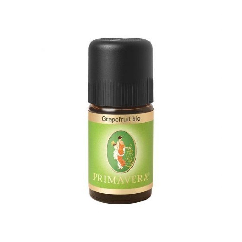 Αιθέριο έλαιο Γκρέιπφρουτ (Bio) (Primavera 5ml)