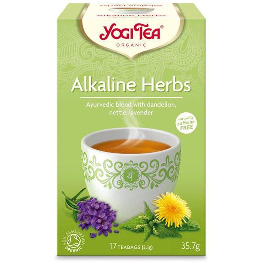 Yogi tea Alkaline herbs (Βιολογικό)