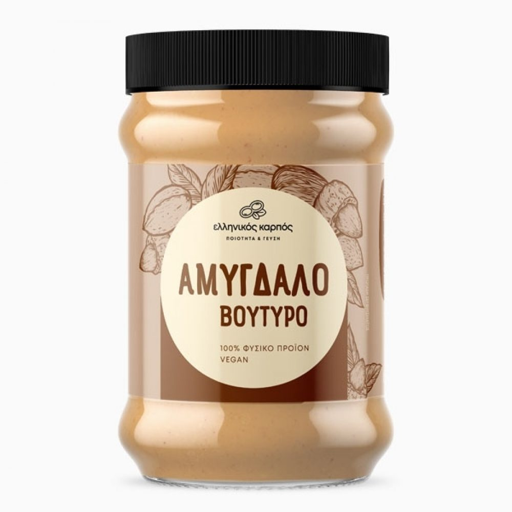 Greek Almond Butter spread (Gluten free) (250g)
