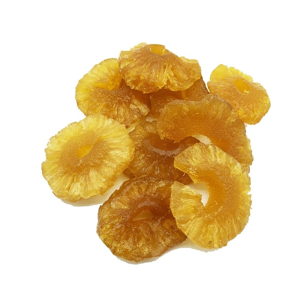 Organic Dried Pineapple Sugar Free (Osmotic)