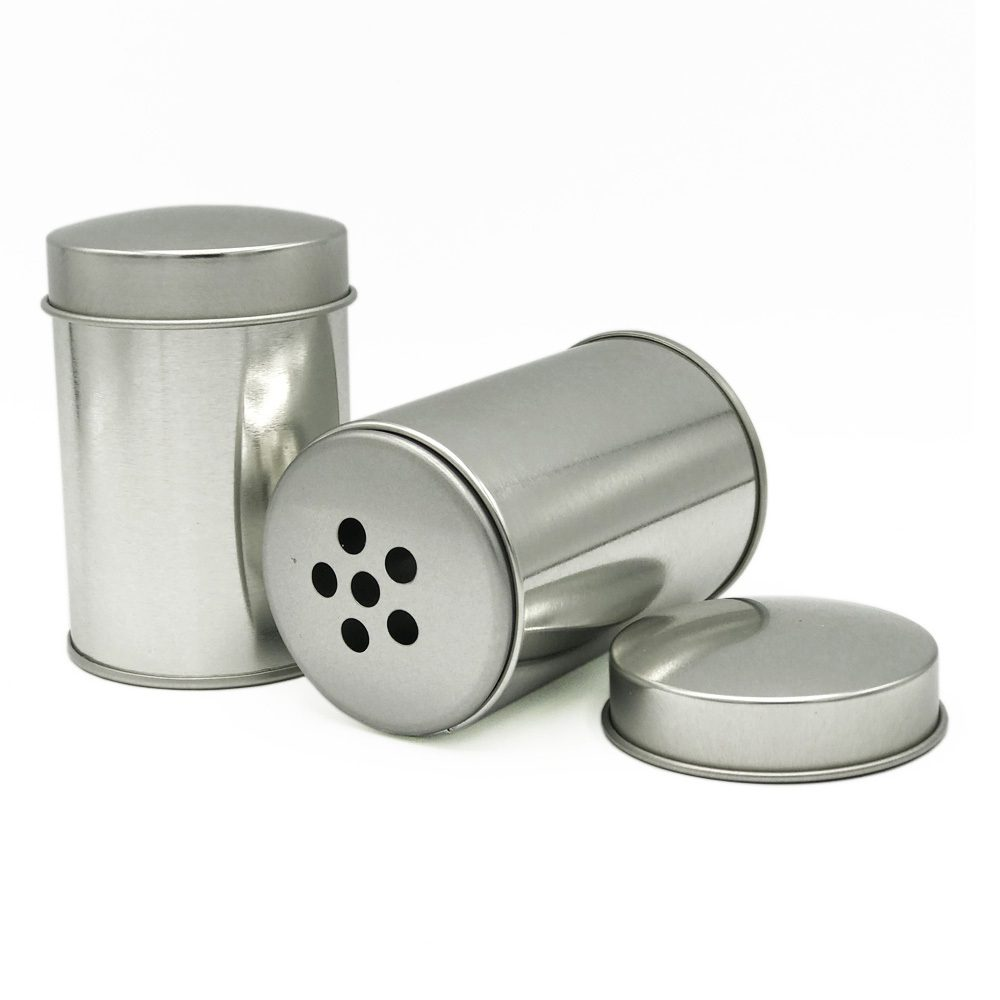 Stainless steel tin for Spices with Big holes (Desjardin)