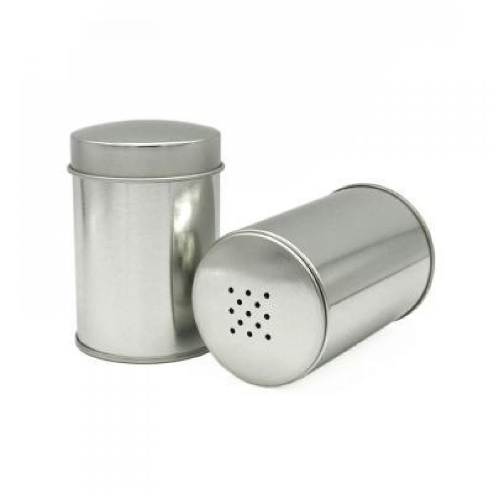 Stainless steel tin for Spices with Small holes (Desjardin)