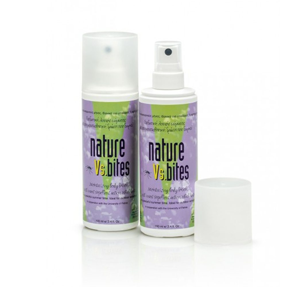 Αντικουνουπικό Nature vs bites, spray (100ml) + Δώρο