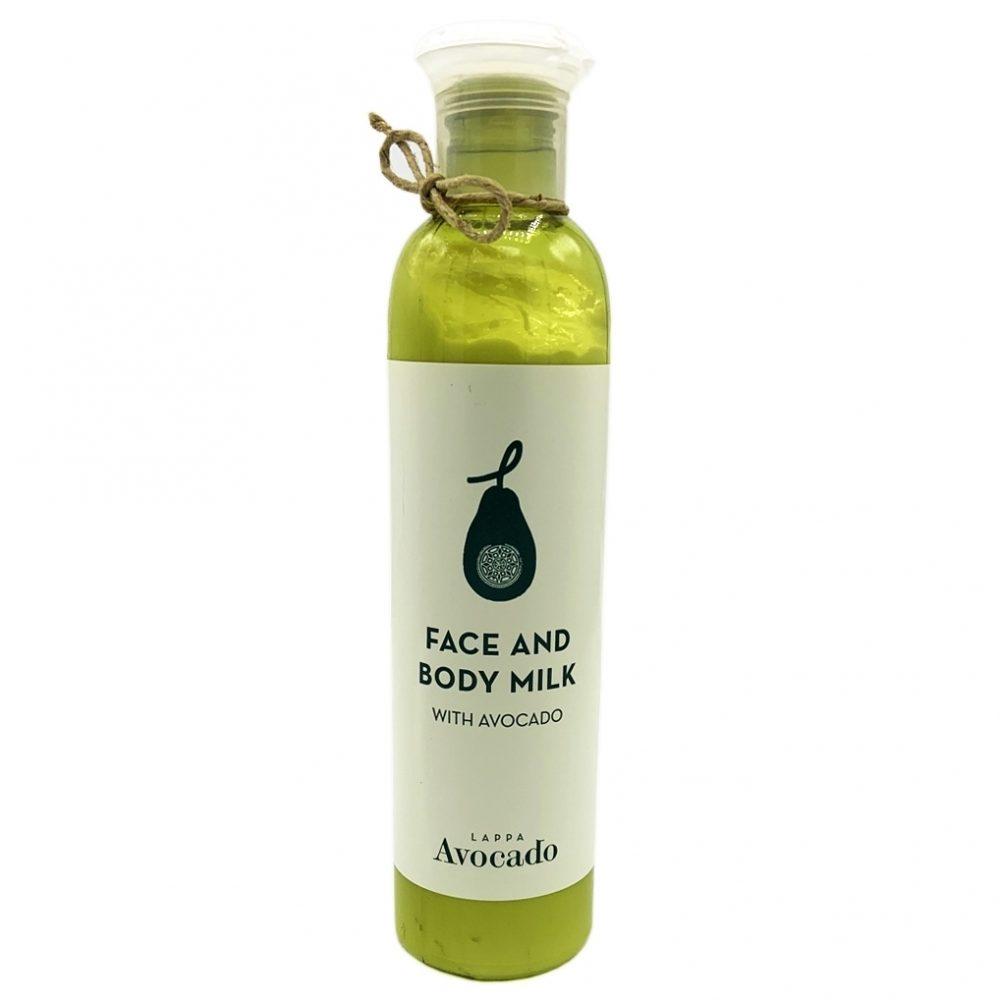 Face & body milk - Γαλάκτωμα Προσώπου & Σώματος Αβοκάντο (250ml)
