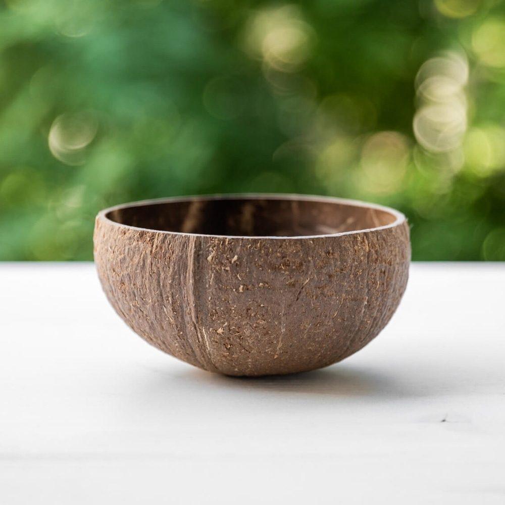 Original wild Coconut Bowl 14-15cm