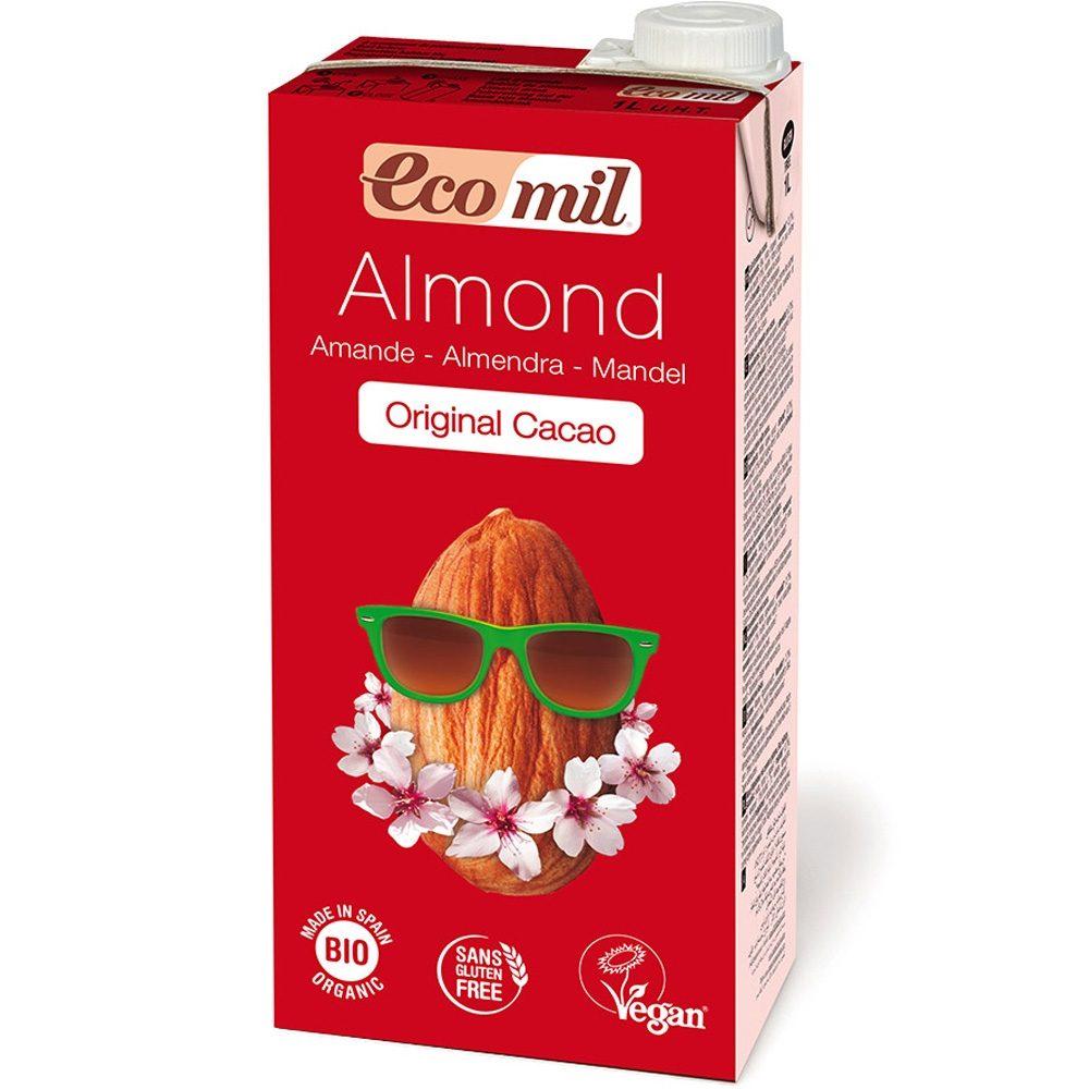 Οrganic Almond chocolate milk sugar free (1lt)