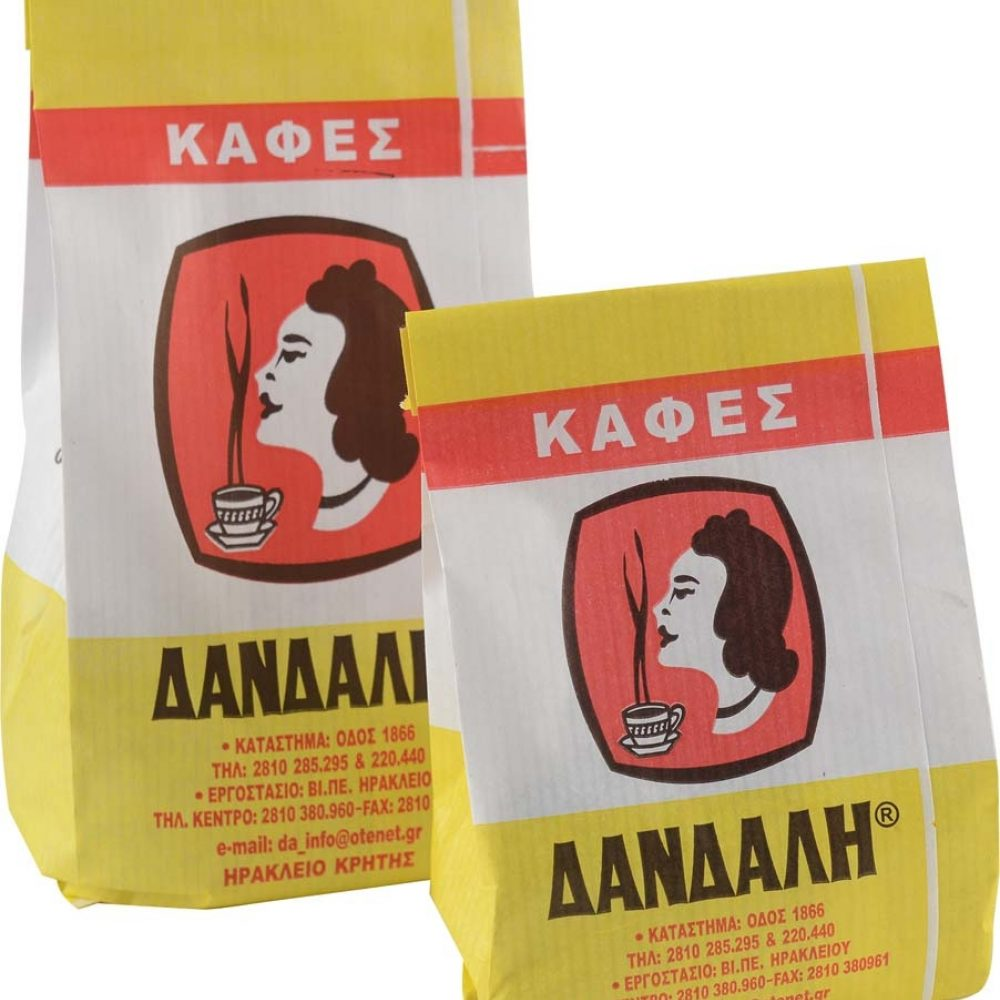 Greek traditional coffee freshly milled by DANDALIS FAMILY since 1952