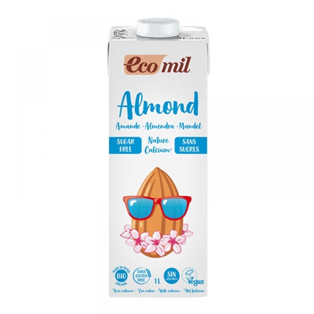 Γάλα αμυγδάλου χ. ζάχαρη με ασβέστιο (Βιολογικό) (1lt)