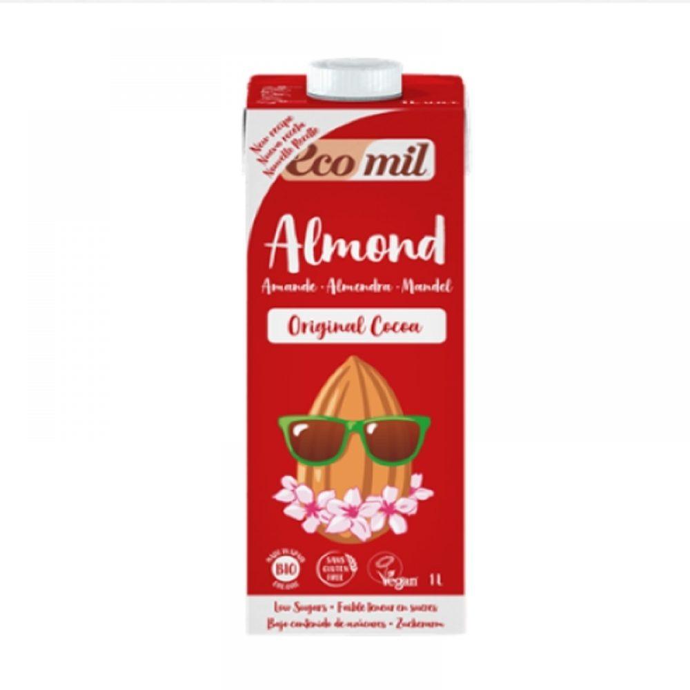 Органический миндаль молочный шоколада без сахара (1л)