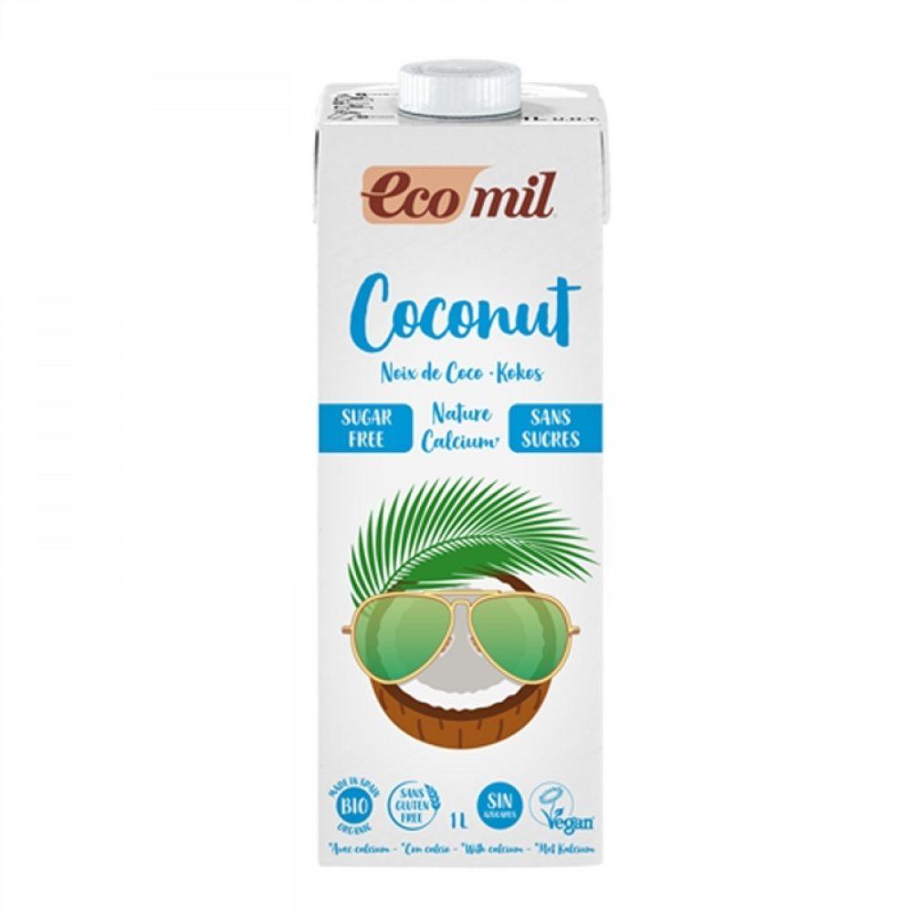 Organic Coconut milk + Calcium sugar free