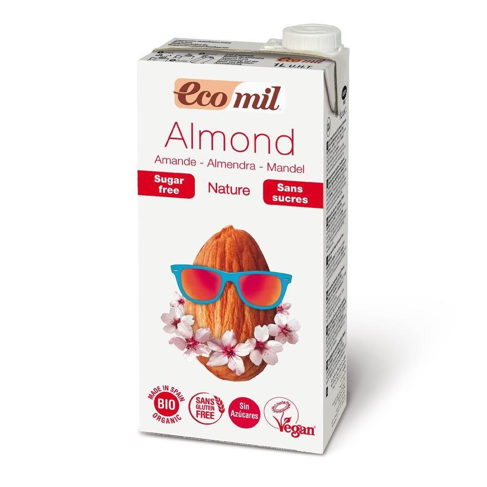 Organic almond milk sugar free (1lt)