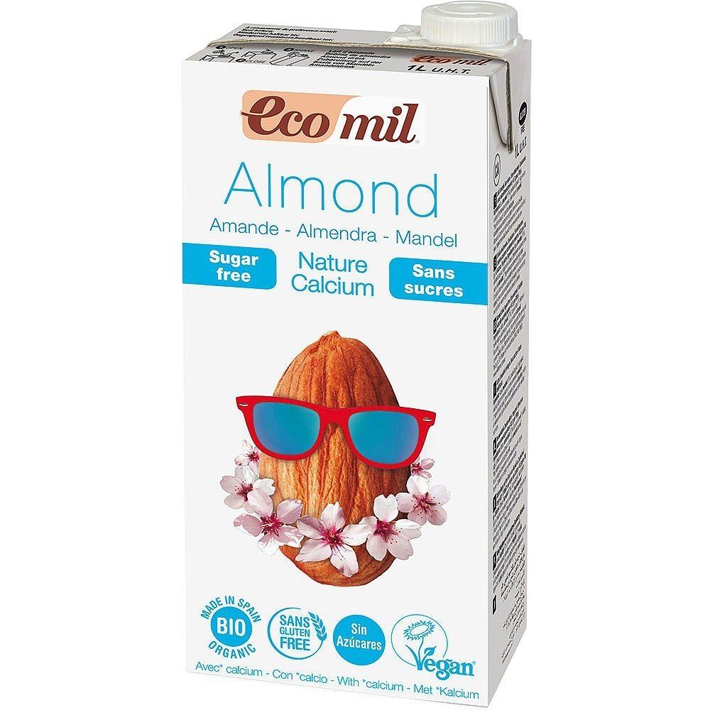 Γάλα αμυγδάλου χ. ζάχαρη με πρόσθετο ασβέστιο (Βιολογικό) (1lt)