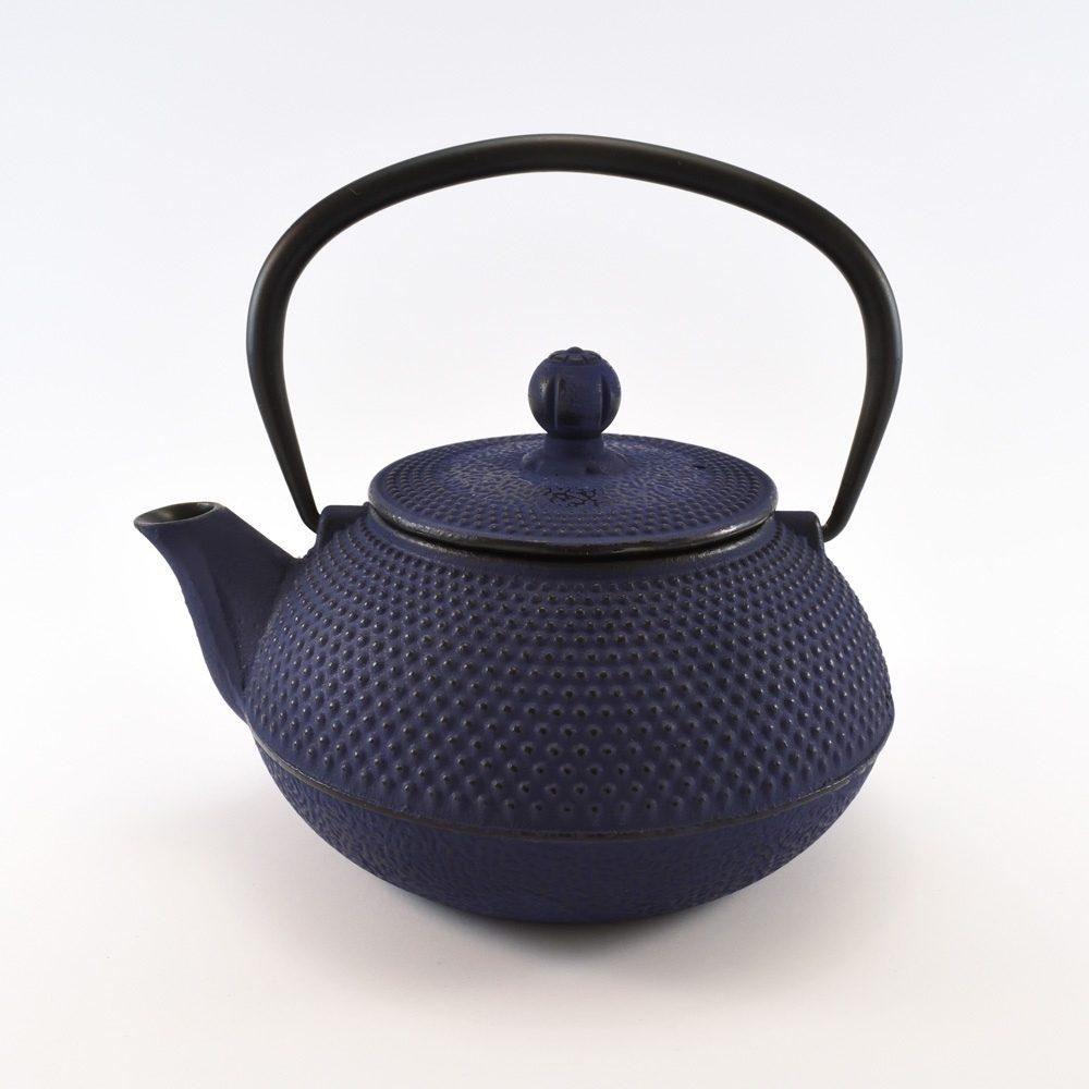 Cast Iron Tea Pot Tea (Blue) (800ml)