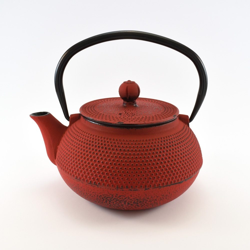 Cast Iron Tea Pot Tea (Red) (800ml)