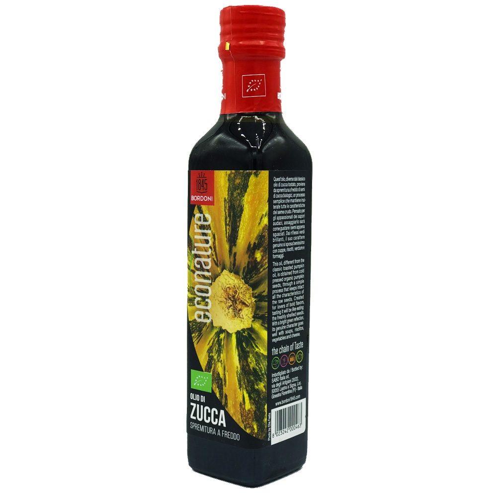 Organic pumpkin seed oil (Cold Pressed)