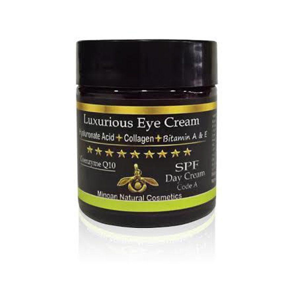 Κρέμα ματιών με υαλουρονικό και κολλαγόνο (Minoan) (30ml)