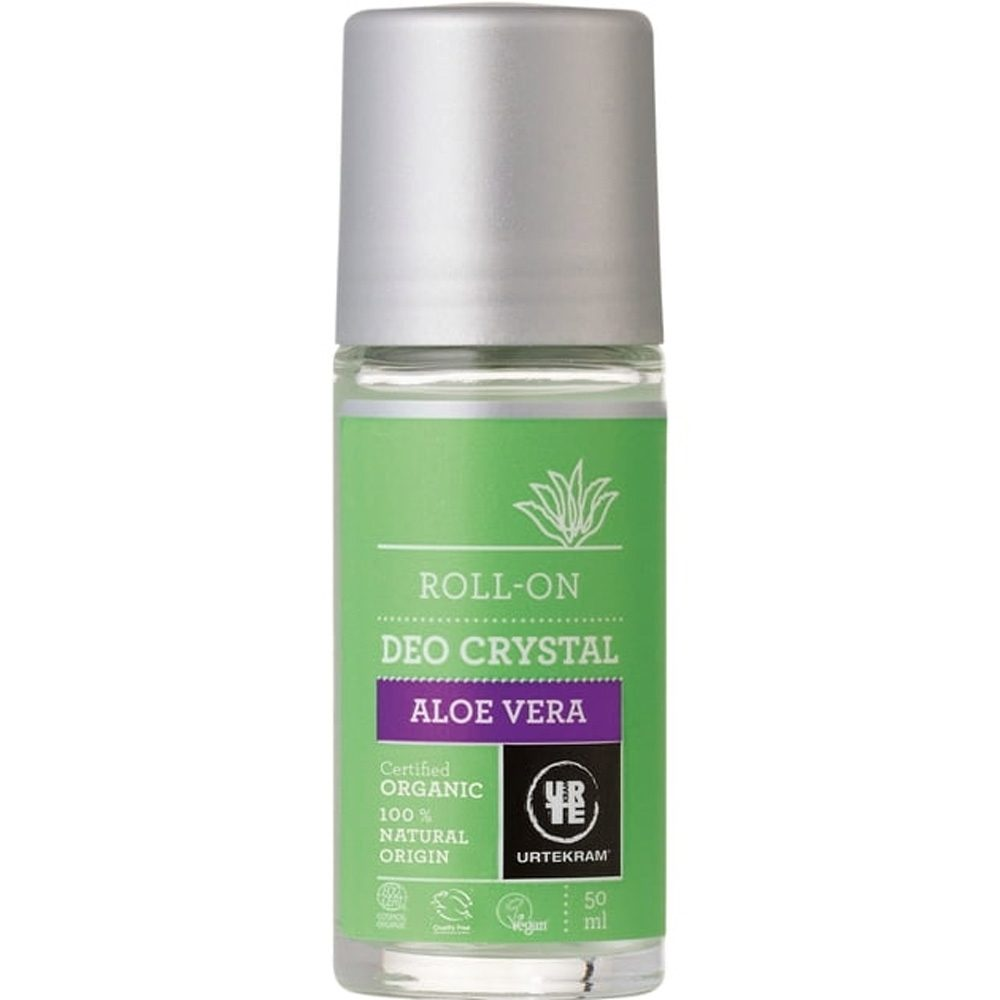 Organic Aloe Vera Crystal Deo Roll-On (50ml)