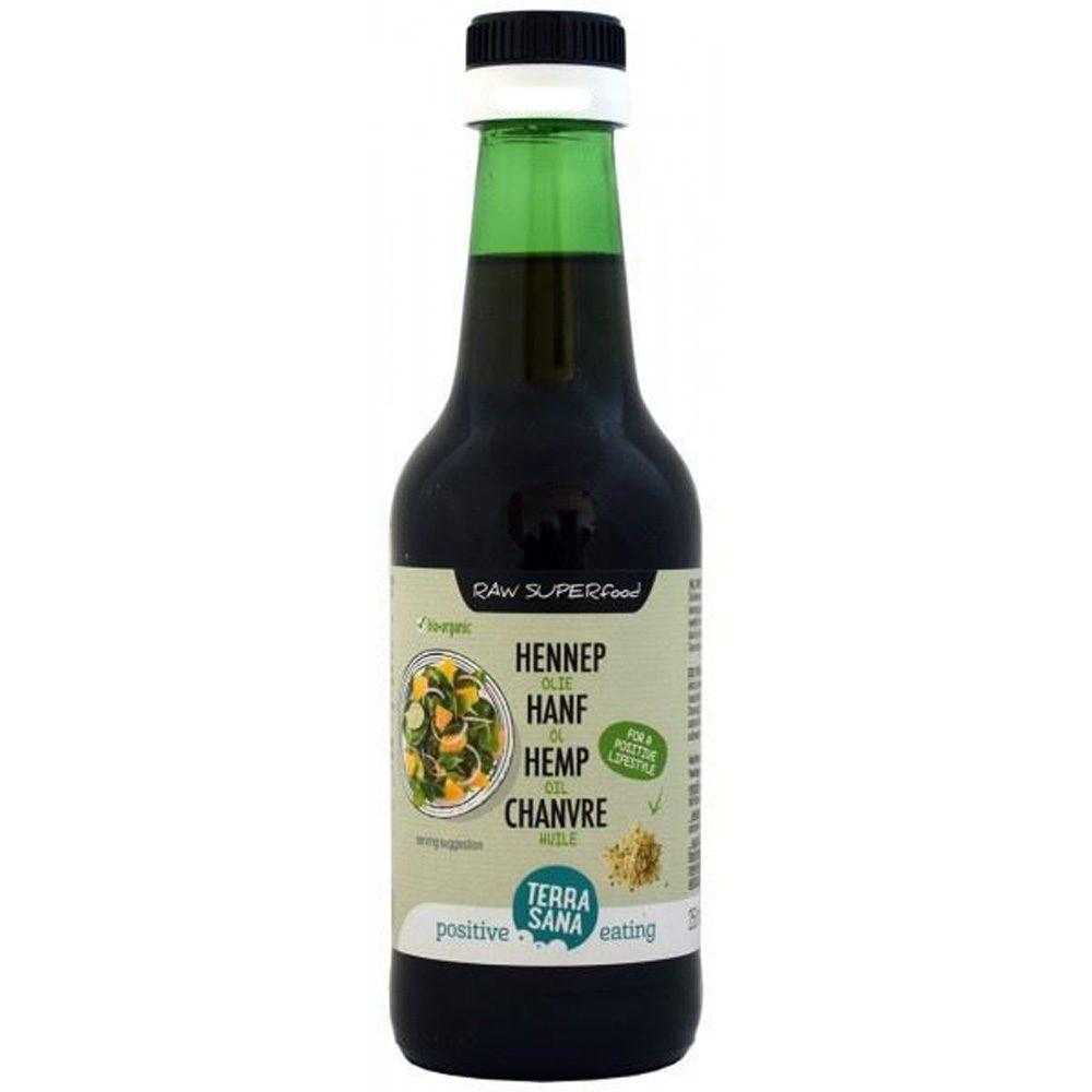 Organic Hemp oil for salads (Cannabis sativa) (250ml)