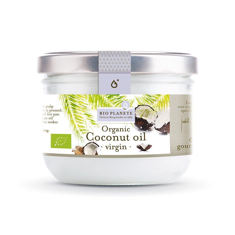 Organic coconut oil (BioPlanet) (200ml)