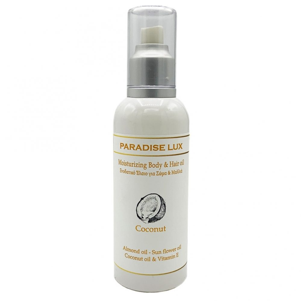 Natural Oil for body & hair with coconut - Paradise Lux (Minoan) (200ml)