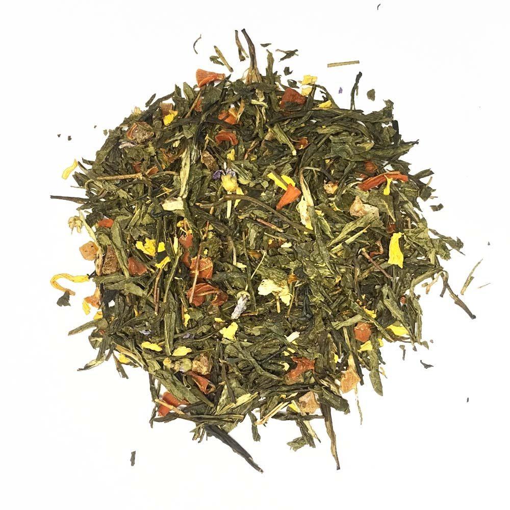 Зеленый чай магия ароматов