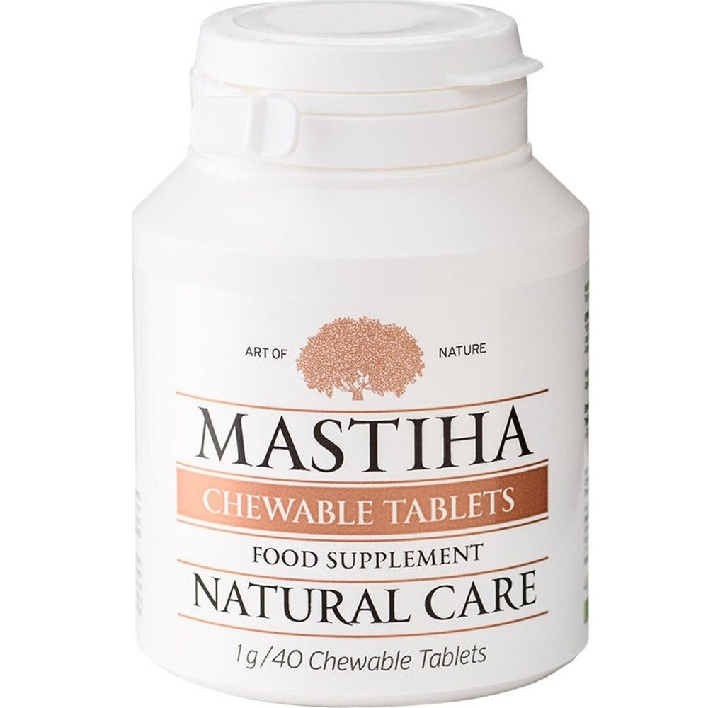 Chewable tablets with mastiha for the stomach (40g)