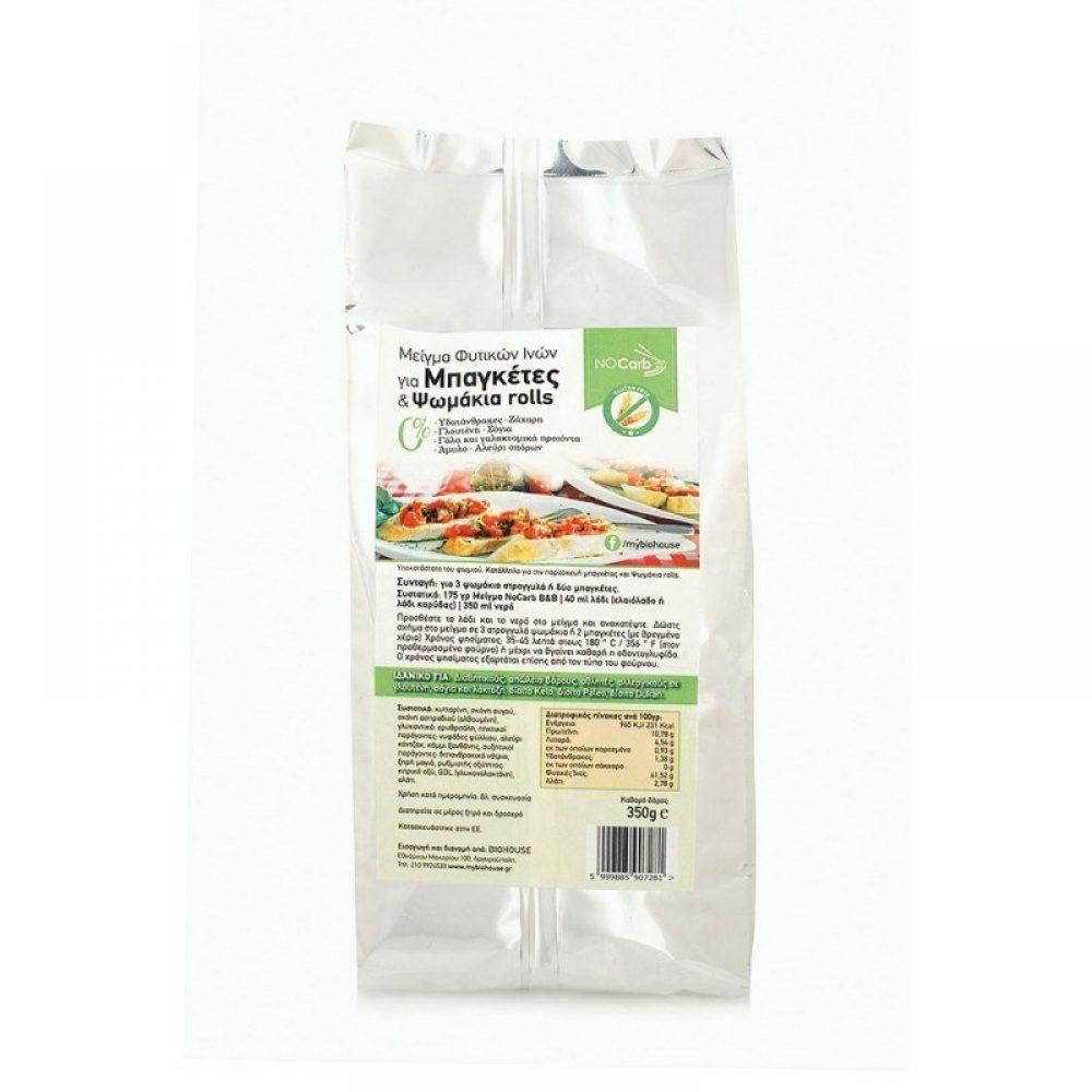 Fiber Mix for Baguettes and Bread Keto-Friendly NoCarb (350g)