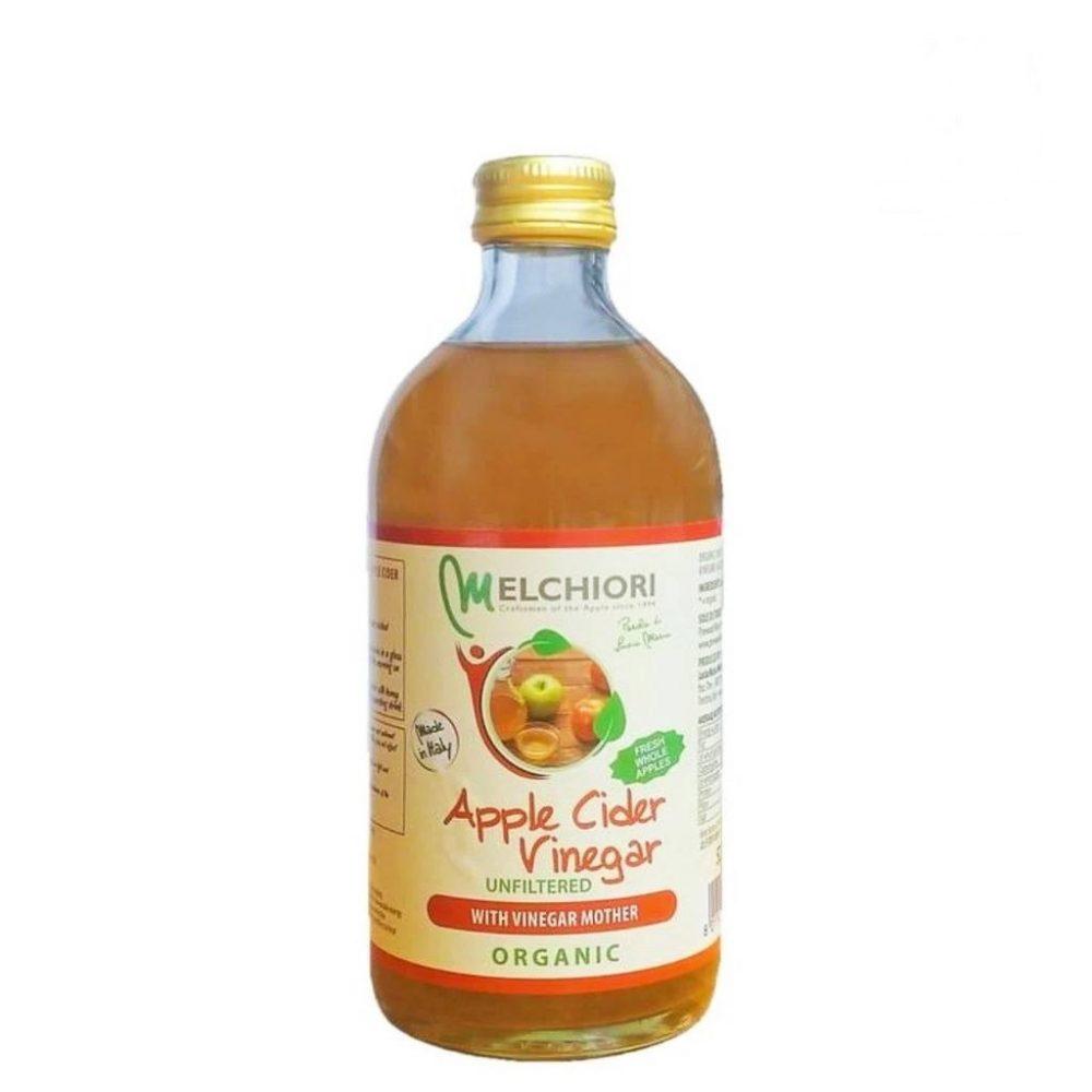 Яблочный органический нефильтрованный уксус из сидра (520ml)