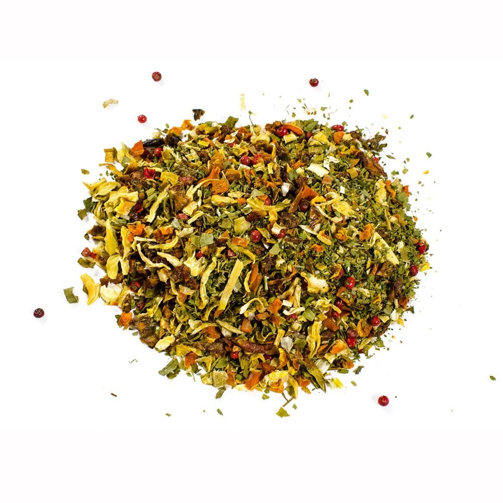 Vegetable mix for soups