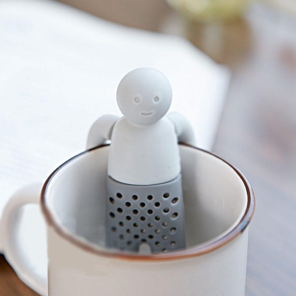 Σουρωτήρι τσαγιού Ανθρωπάκι Mr. Tea