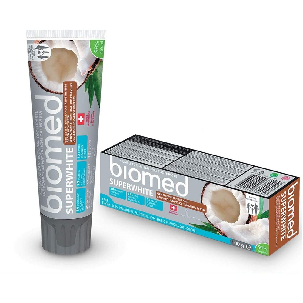 Biomed Superwhite Toothpaste with Coconut (100g)