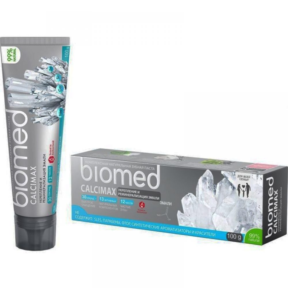 Biomed Calcimax Toothpaste (Fluoride-free) (100g)