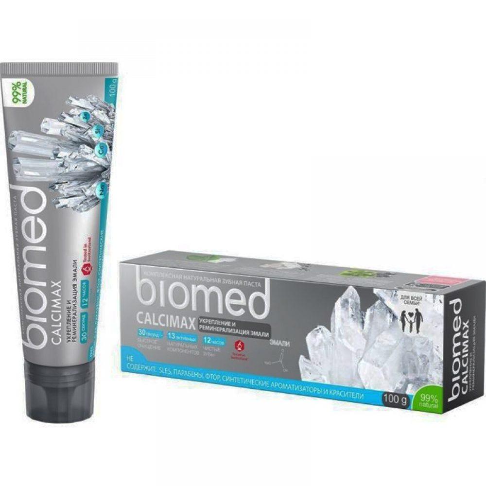 Οδοντόκρεμα Biomed Ενίσχυση σμάλτου (Χωρίς φθόριο) (100g)