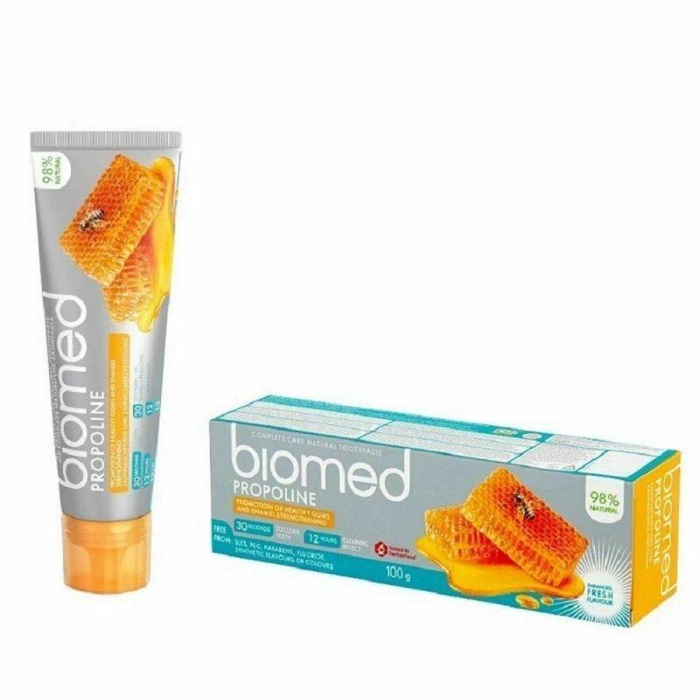 Οδοντόκρεμα Biomed Πρόπολη Υγιή ούλα (Χωρίς φθόριο) (100g)