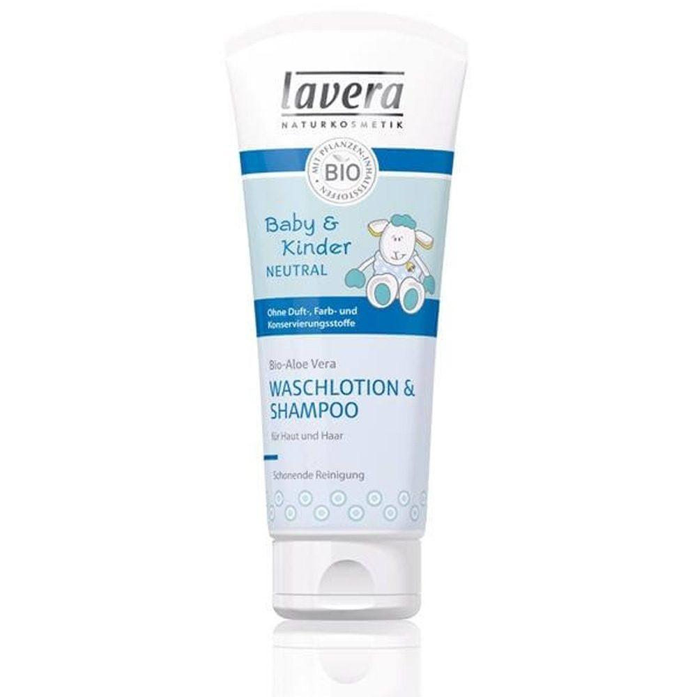 Organic Kids Shampoo For Skin & Hair (Lavera) (200ml)
