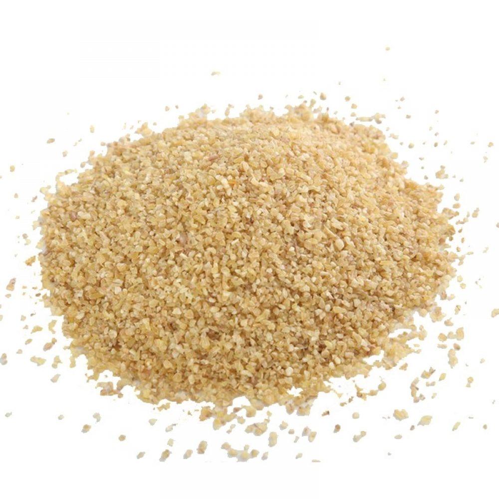 Wheat groats ground