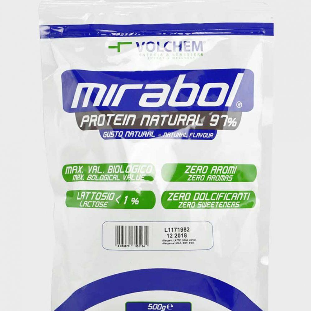 Mirabol Whey Milk Protein Natural 97% (500g)