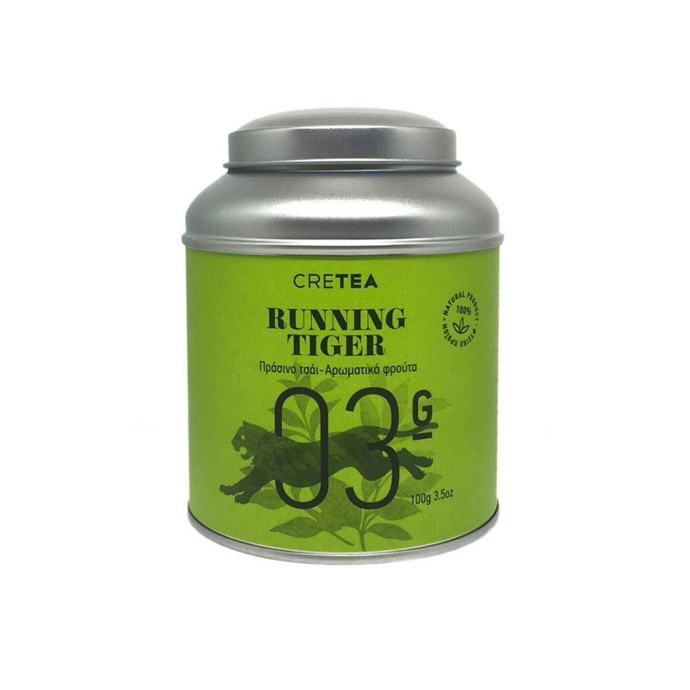 RUNNING TIGER - Fruity green tea (100g)