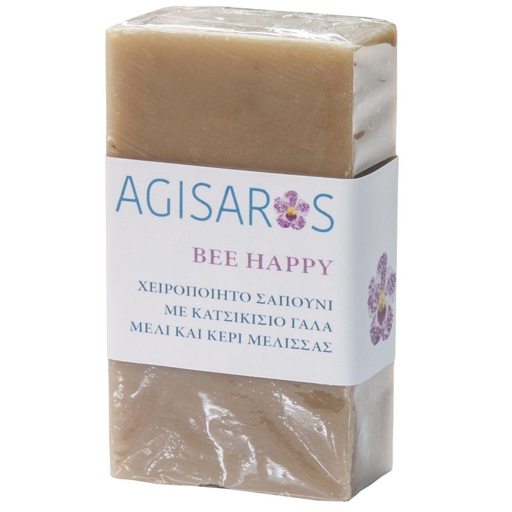 Σαπούνι Bee Happy με Κατσικίσιο γάλα & Μέλι (Agisaros) (90g)