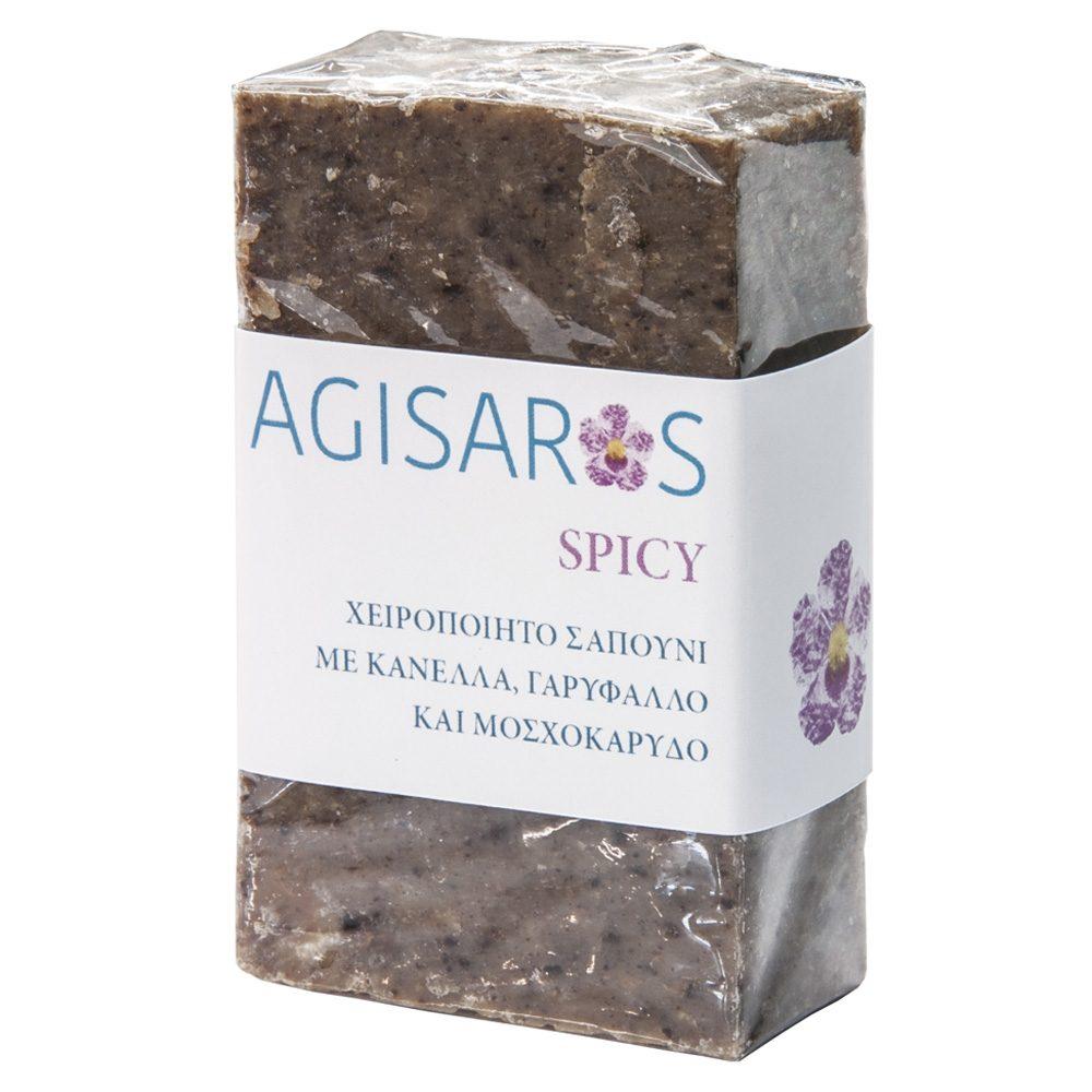 Σαπούνι Spicy απολέπισης με μπαχαρικά (Agisaros) (90g)
