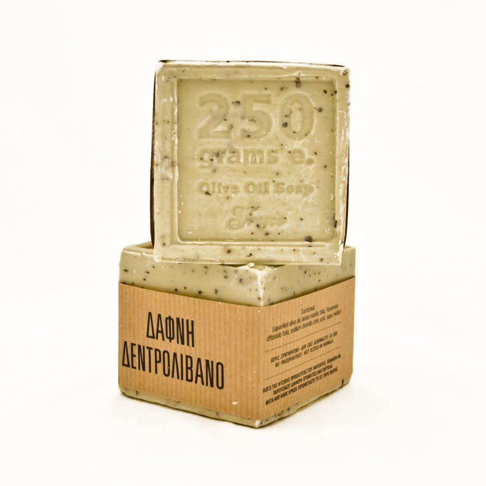 Σαπούνι για τριχόπτωση δάφνη - δενδρολίβανο (250g)