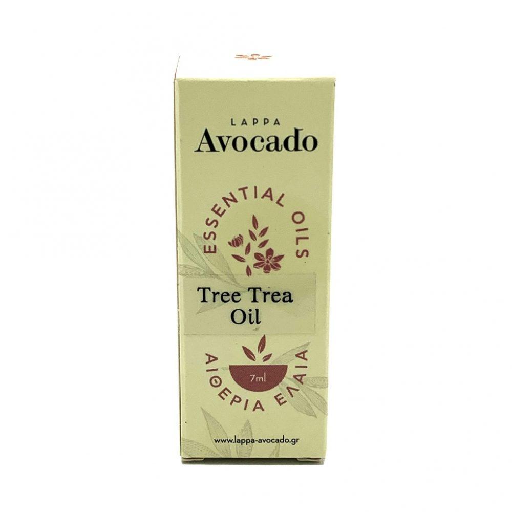 """Αιθέριο Ελαιο Τεϊόδεντρο """"Tea tree"""" (Lappa Avocado 7ml)"""